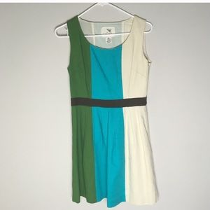 Anthropologie Tabitha Color Block Striped Dress -C